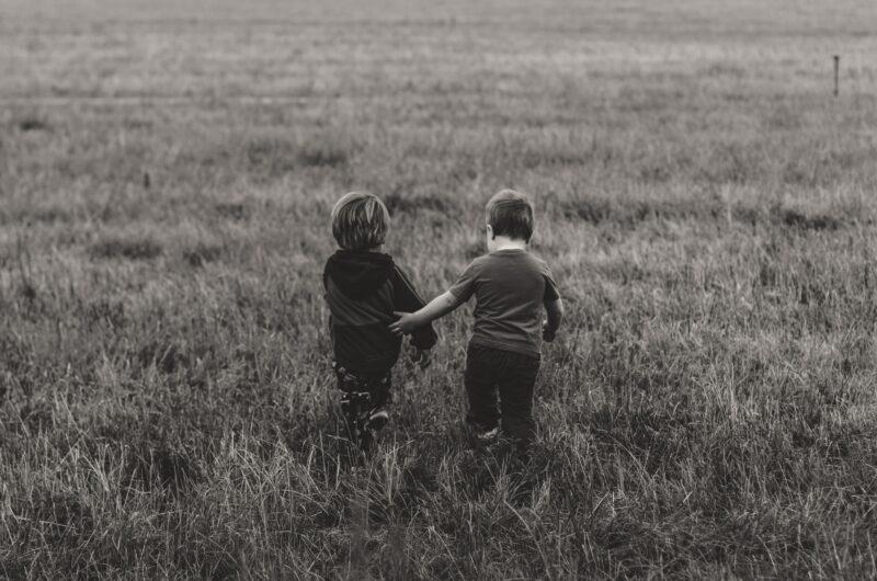 amistad en la infancia